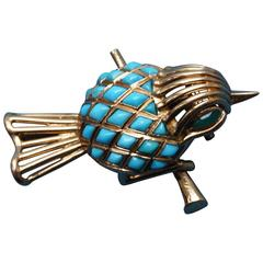 Mauboussin Bird Brooch