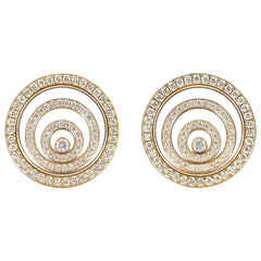 Happy Spirit Diamond Earrings by Chopard