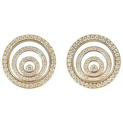 Happy Spirit Diamond Earrings by Chopard
