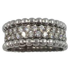 Perlée Diamond Ring