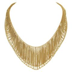 H. Stern Gold Mesh Necklace