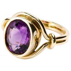 Cassandra Goad Agricola Amethyst Gold Ring