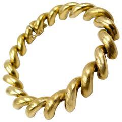 Unoaerre San Marco Gold Bracelet