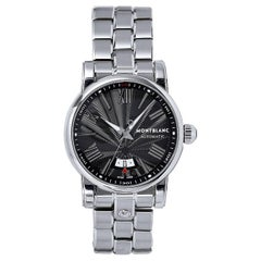 Mont Blanc Stainless Steel Star Collection Automatic Wristwatch