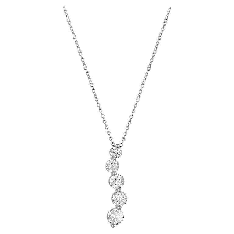 140 carat diamond five stone gold journey pendant necklace for sale 140 carat diamond five stone gold journey pendant necklace for sale aloadofball Choice Image