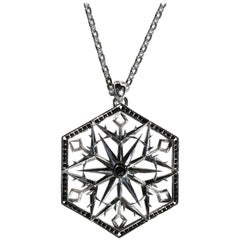 Snow Queen Sapphire Necklace