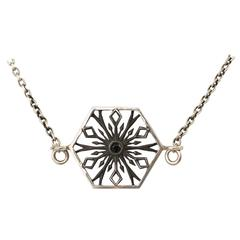 Snowflakes Romance Silver Necklace