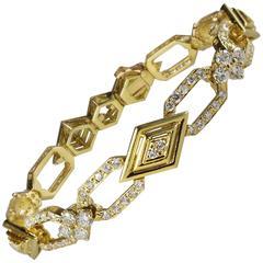 Diamond Bracelet Made in France