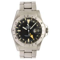 "Rolex Stainless Steel Explorer II ""Steve McQueen"" Wristwatch Ref 1655"