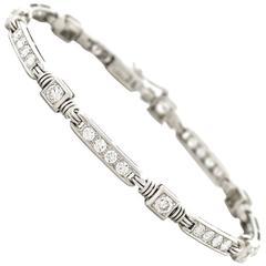 Gubelin Modernist Diamond Gold Bracelet