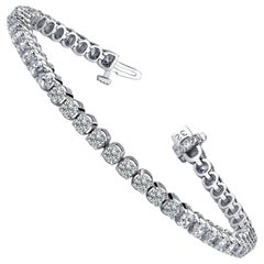 Diamond Four Prong Tennis Bracelet