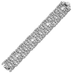 Bulgari Iconic Retro Diamond Gold Bracelet