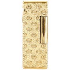 1960s Boucheron Gold Marguerite Lighter