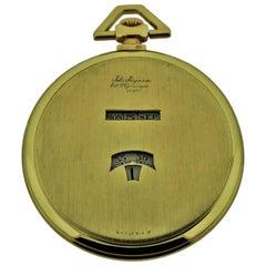 Jules Jurgensen Pocket Digital Time Calendar Watch