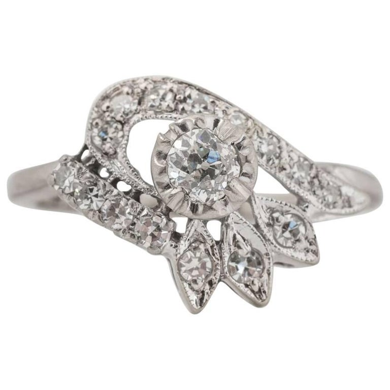 1940s Diamond Ring For Sale