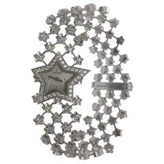 Chanel Ladies White Gold Diamond Dust of the Stars Quartz Wristwatch