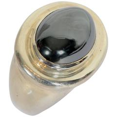 Tiffany & Co. Paloma Picasso Hematite Silver Ring