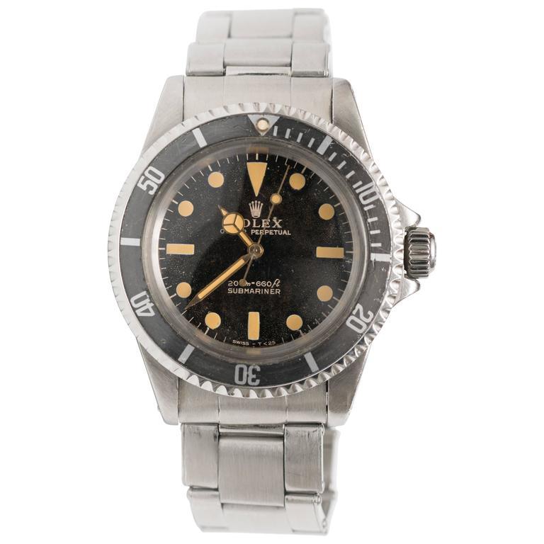 Rolex 5513 Matte Submariner Watch For Sale