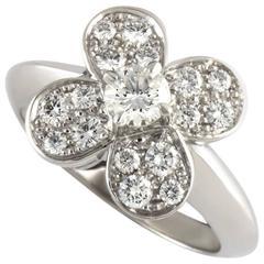 Van Cleef & Arpels Diamond Alhambra Ring