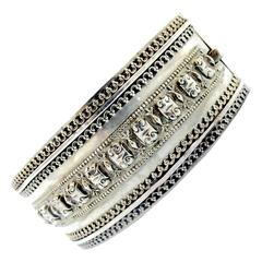 Antique Sterling Cuff Bracelet