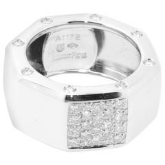 Audemars Piguet 18 Karat White Gold and Diamond Ring