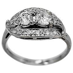 .78 Carat Diamond White Gold Engagement Ring