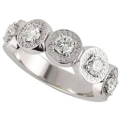 Versace Diamond Dress Ring