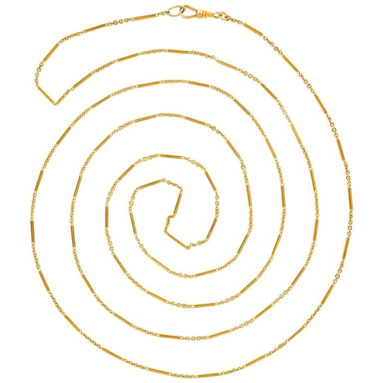 Antique Gold Chain 1