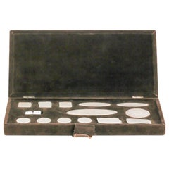 Buccellati Sterling Silver Roulette Poker Chip Set