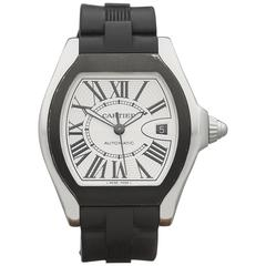 Cartier Stainless Steel Roadster Automatic Wristwatch