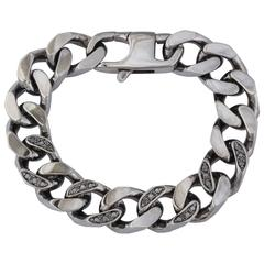 Amedeo Multi-Link Bracelet With Diamonds
