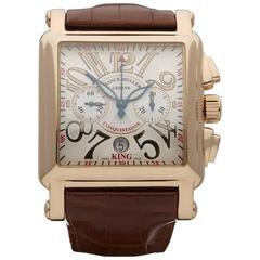 Franck Muller King Conquistador chronograph gents 10000K CC watch