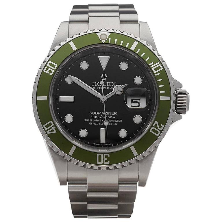 Rolex Submariner 50th anniversary gents 16610LV watch at ...