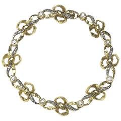 Diamond Bow Bracelet