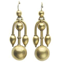 Victorian Gold Earrings