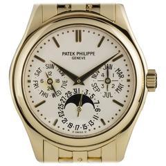 Patek Philippe Gold Perpetual Calendar Automatic Wristwatch