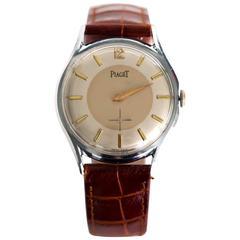 Piaget Stainless Steel Manual Wind Wristwatch