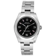 Rolex Stainless Steel Oyster Perpetual Midsize Automatic Wristwatch