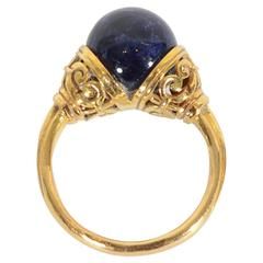 LaLounis Sodalite Gold Ring