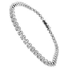 Damiani Minou Diamond Gold Tennis Bracelet