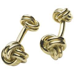 Tiffany & Co. Gold Knot Cufflinks