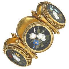 1870s Antique Victorian Ashford Marble Bracelet