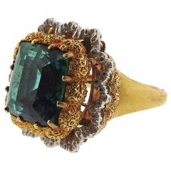 Buccellati Tourmaline Gold Ring