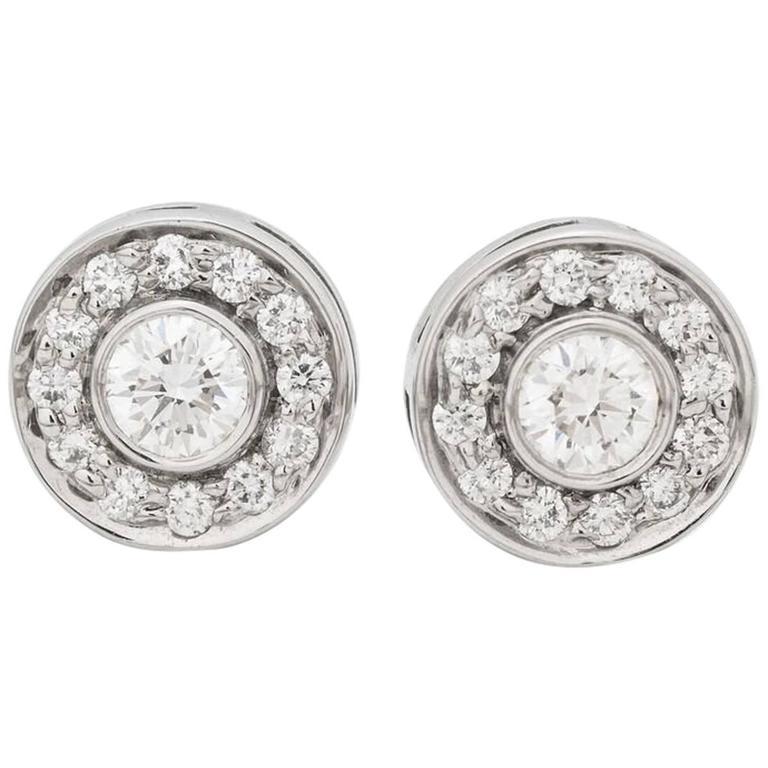 Tiffany & Co. Mini Circlet Earrings For Sale