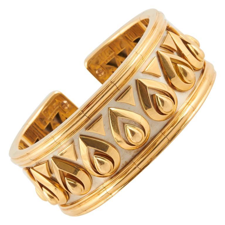 Cartier Gold Cuff Bracelet