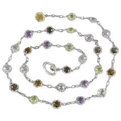Tacori Color Medley Gum Drop Necklace