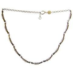 Miye Matsukata for Janiye Sterling Silver Handmade Necklace