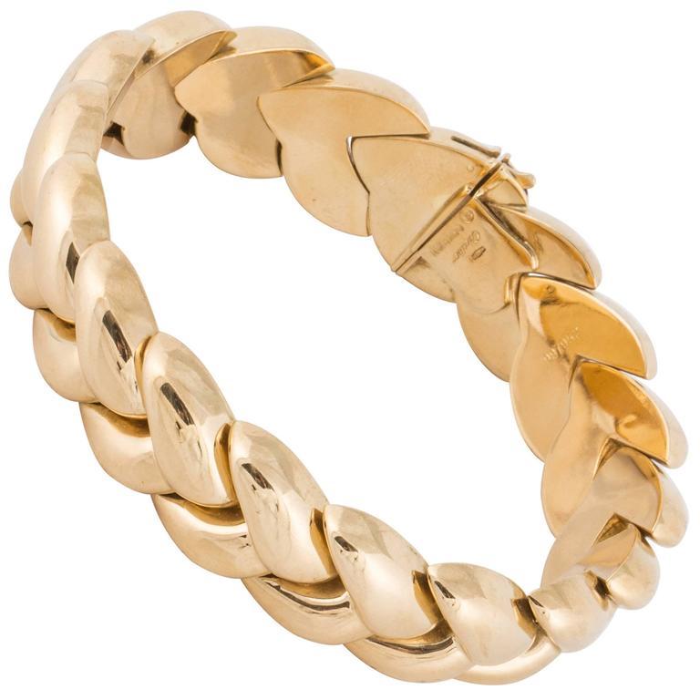 Cartier 18k Braided Bracelet For