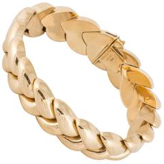 Cartier 18K Braided Bracelet
