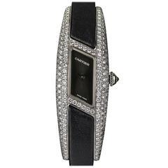 Rare Cartier Ladies Diamond Himalia quartz Wristwatch
